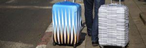 Чехол на чемодан с логотипом 2