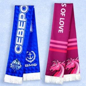 Печать на шарфах 2