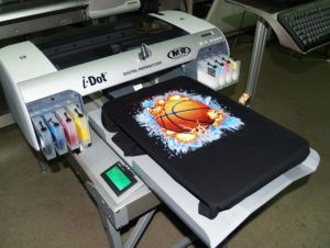 Прямая печать на ткани 2